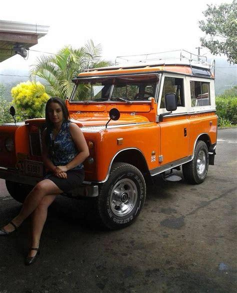 retro range rover ladies and landrovers serie 3 landy