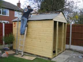 shed roof building a shed