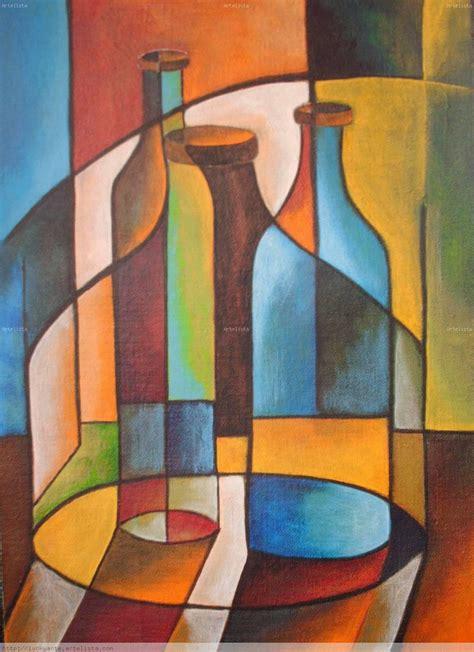cubismo cuadros serie cubista lucrecia santos artelista
