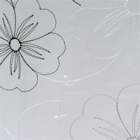 fertiggardinen weiß gardinen schwarz petrol blumen beste bildideen zu hause