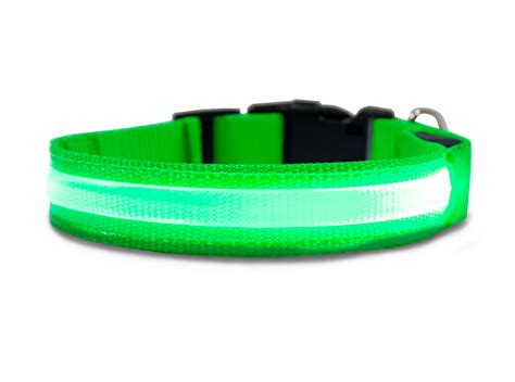 light up collar furhaven pet nap safety led light up collar for dogs