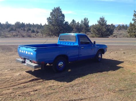 Datsun Truck For Sale by Datsun Other Standard Cab 1976 Blue For Sale
