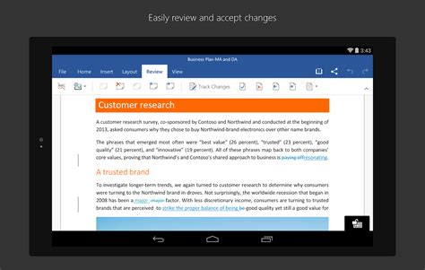 word for android microsoft word android apps on play