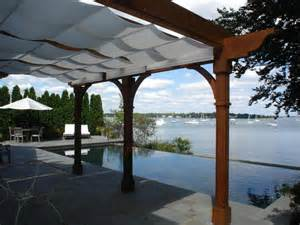 pergola with shade 1000 images about guy kathy robert on pinterest deck