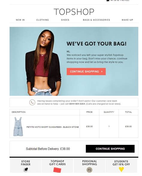 86 Best Cart Abandonment Emails Images On Pinterest Email Newsletter Design Cart And Email Design Abandoned Cart Email Template