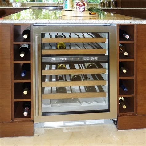 Kitchen Islands With Wine Racks A Wine Rack And Cooler Right At The End Of A Kitchen Island Is A Great Feature For Those Who
