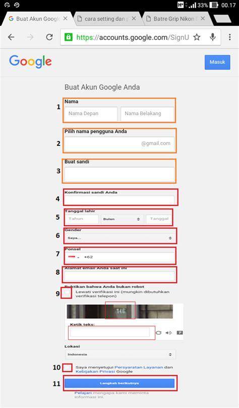 buat akun instagram tanpa download terbaru 2017 daftar gmail baru cara daftar dan buat akun