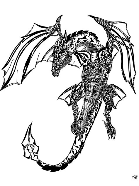 dragon tattoo drawing drawing www imgkid the image kid has it