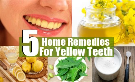 5 superb home remedies for yellow teeth diy health remedy