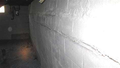 repairing basement walls how to repair cracked and bowing basement walls