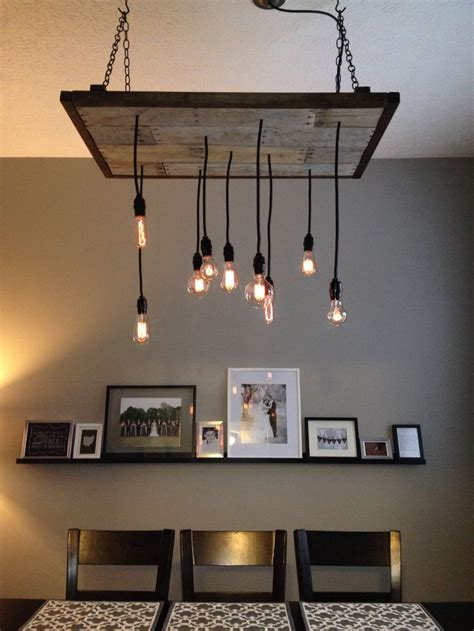 Diy Dining Room Light Diy Rustic Industrial Chandelier For The Home Shape The O Jays And Industrial