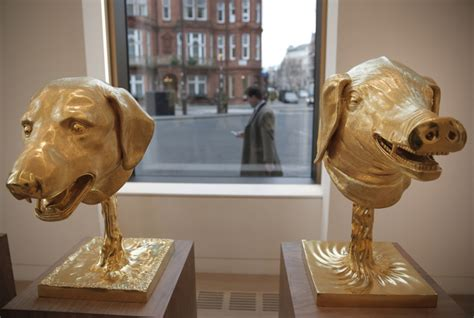 gold coast house plated with gold daily mail online ai weiwei zodiac sculptures up for auction in london