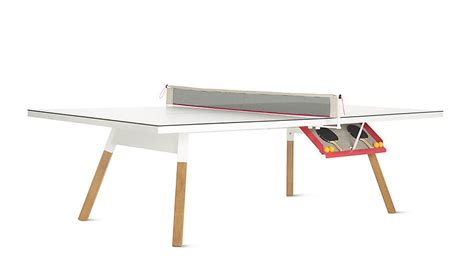 the bola service table is the newest sexy ping pong table