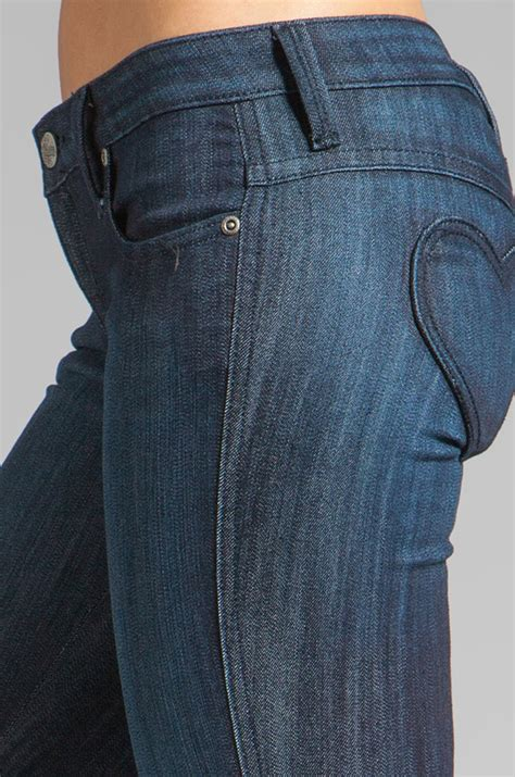 Denim Frankie B by Frankie B Fb Mine Pocket Jean In Blue