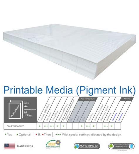 Eprint Paper T Shirt Transfer A4 5 Lembar 150 G Limited jual transfer paper kertas transfer paper sablon berkualitas