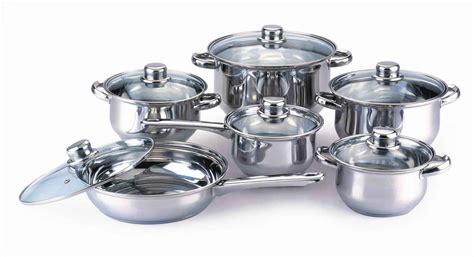 Kaisa Villa Cookware 12pcs stainless steel cookware set stock pot casserole