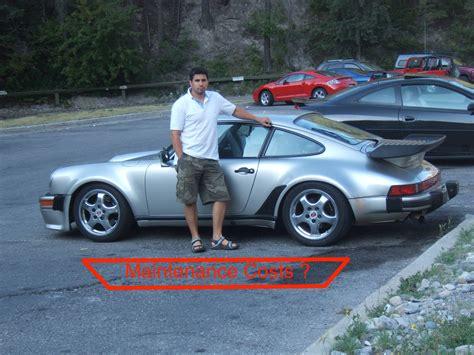 cost of porsche 911 porsche 911 turbo 930 maintenance costs
