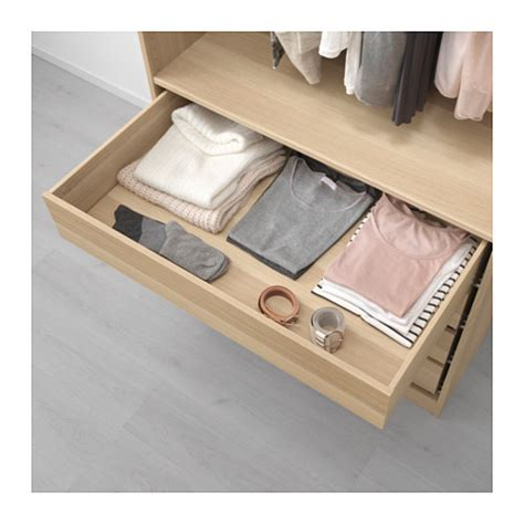 ikea pax schublade komplement drawer white stained oak effect 100x58 cm ikea