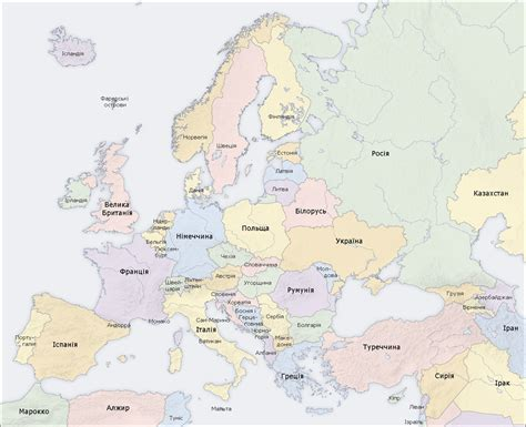 europe and uk map map of united kingdom and europe