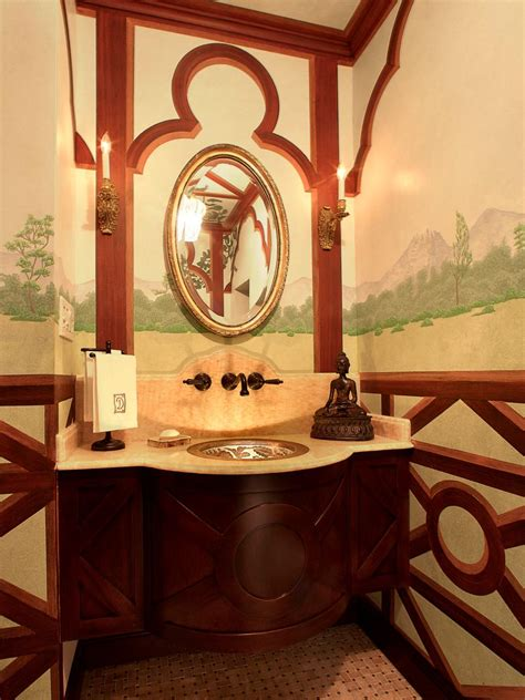 Asian Bathroom Design asian style bathrooms hgtv