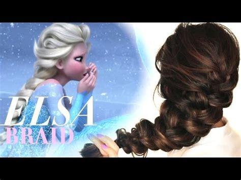 Hairstyle Doll Frozen by Frozen Braid On Easy Hairstyles Frozen