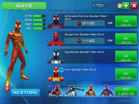 game spiderman apk data mod download game the amazing spiderman 2 apk mod