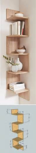 diy corner bookcase 20 diy corner shelves to beautify your awkward corner 2017
