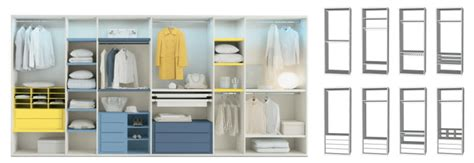 strutture componibili per cabine armadio crea la tua cabina armadio su misura arredaclick