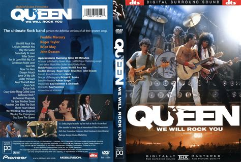 queen film we will rock you jaquette dvd de queen we will rock you cin 233 ma passion
