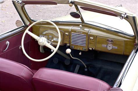 99 Mercury Interior by 1939 Mercury 99a Convertible 161626