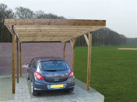 Single Car Port by Single Lean To Or Freestanding Timber Carport