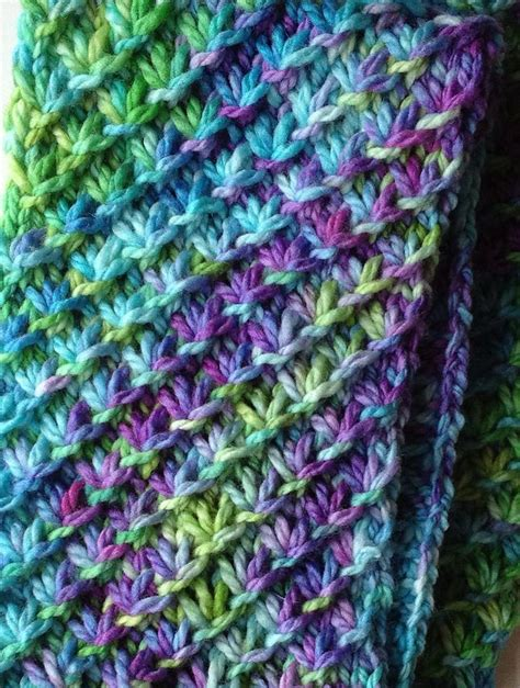 knit scarf pattern yarn over free knitting pattern star stitch scarf morgen d 228 mmerung