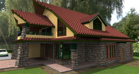 house plans  kenya kenani  bedroom house plan david