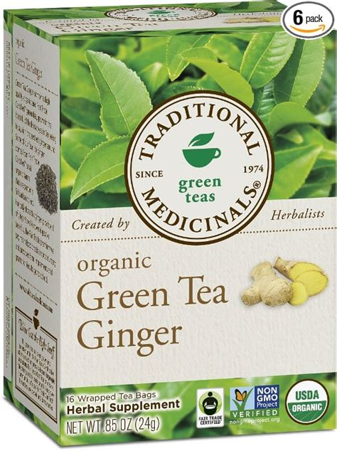 Traditional Medicinals Detox Tea Benefits by Traditional Medicinals Organic Green Tea Review