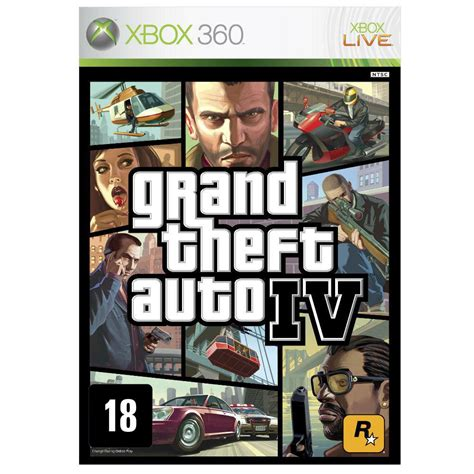 si鑒e auto 360 jogo grand theft auto iv xbox 360 jogos xbox 360 no