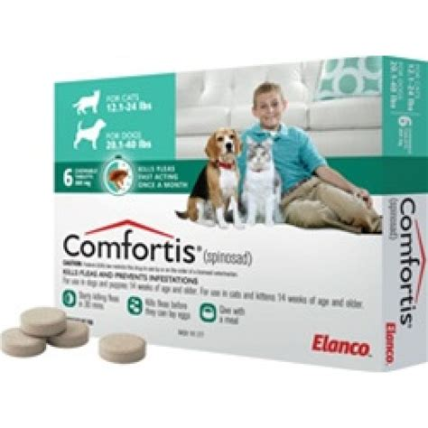 Bravecto Flea Pill For Cats - comfortis tablets for medium dogs 9 to 18kg 6 pack only
