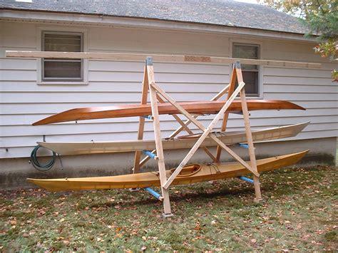Build A Rack by Diy Kayak Rack To Store Kayak Properly Gallery Gallery
