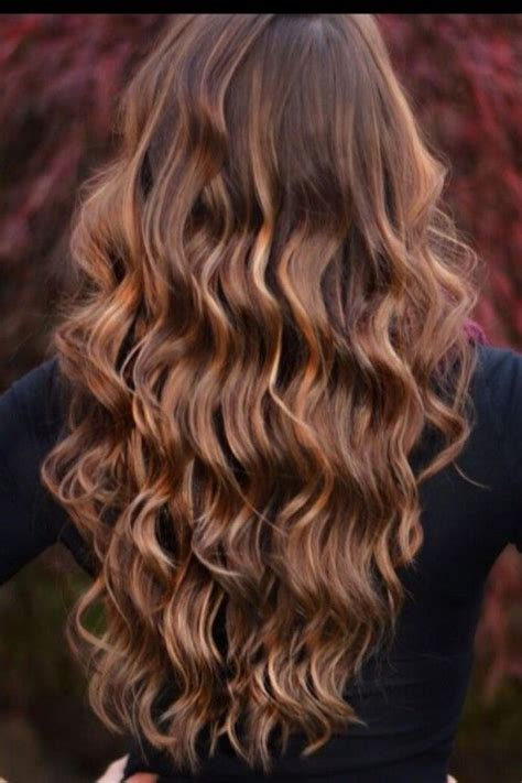 fall highlights for brown hair hairspiration warm up your tresses for fall cowgirl