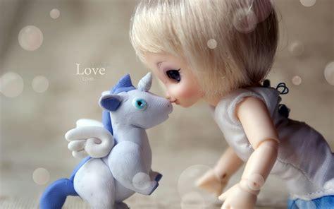 wallpaper of cute baby doll baby doll kiss unicorn wallpaper wallpaper high