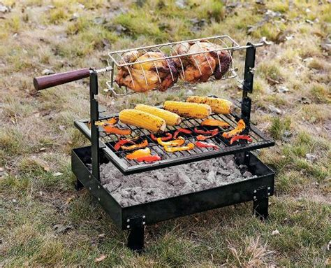 backyard rotisserie rome firepan rotisserie grill traditional grill tools