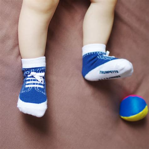 slippers that look like shoes baby boy socks that look like shoes by trumpette uk