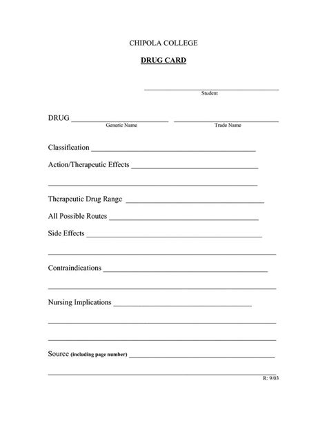 med card template 197 best nursing forms templates images on