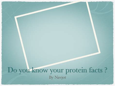protein questions protein questions and answers