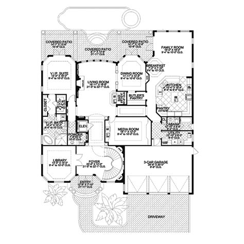 first floor in spanish first floor in spanish hamburg spanish style home plan