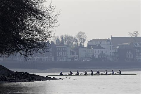 thames river university boat race 2012 cambridge exacts revenge for last year