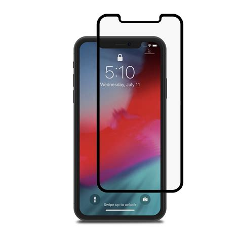 privacy glass screen protector for iphone xr ionglass privacy by moshi