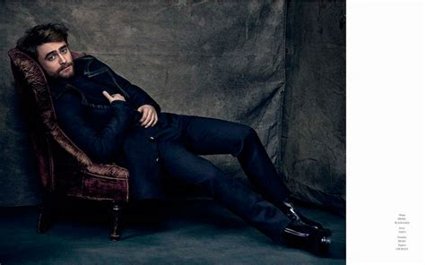 daniel radcliffe icon el pais  photo shoot