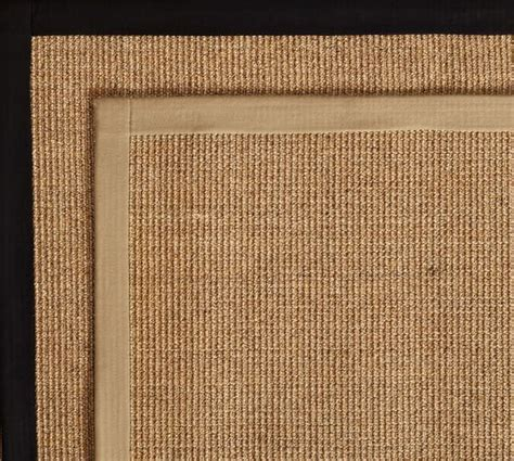 color bound sisal rugs color bound earth sisal rug swatch pottery barn