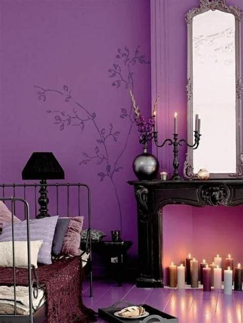 Badezimmer Deko Violett by Innendesign Ideen Die Violett Farbe Im Interieur