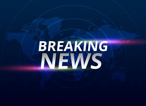 breaking news background breaking news banner background with world map